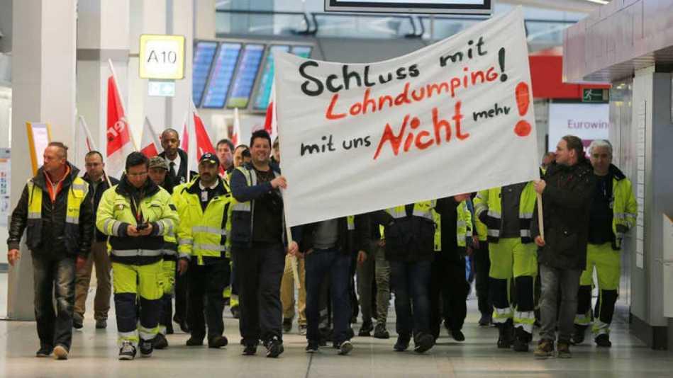 huelga berlin aeropuertos