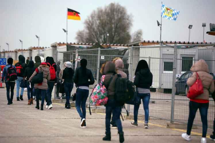 solicitantes asilo alemania