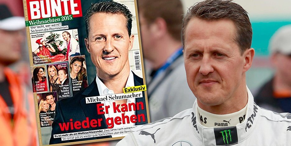 schumacher bunte alemania revista