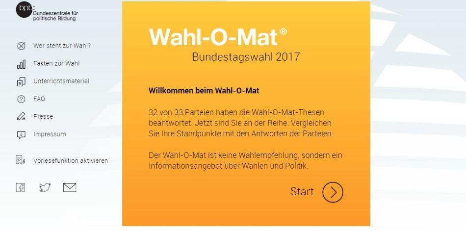 wahlomat alemania voto elecciones